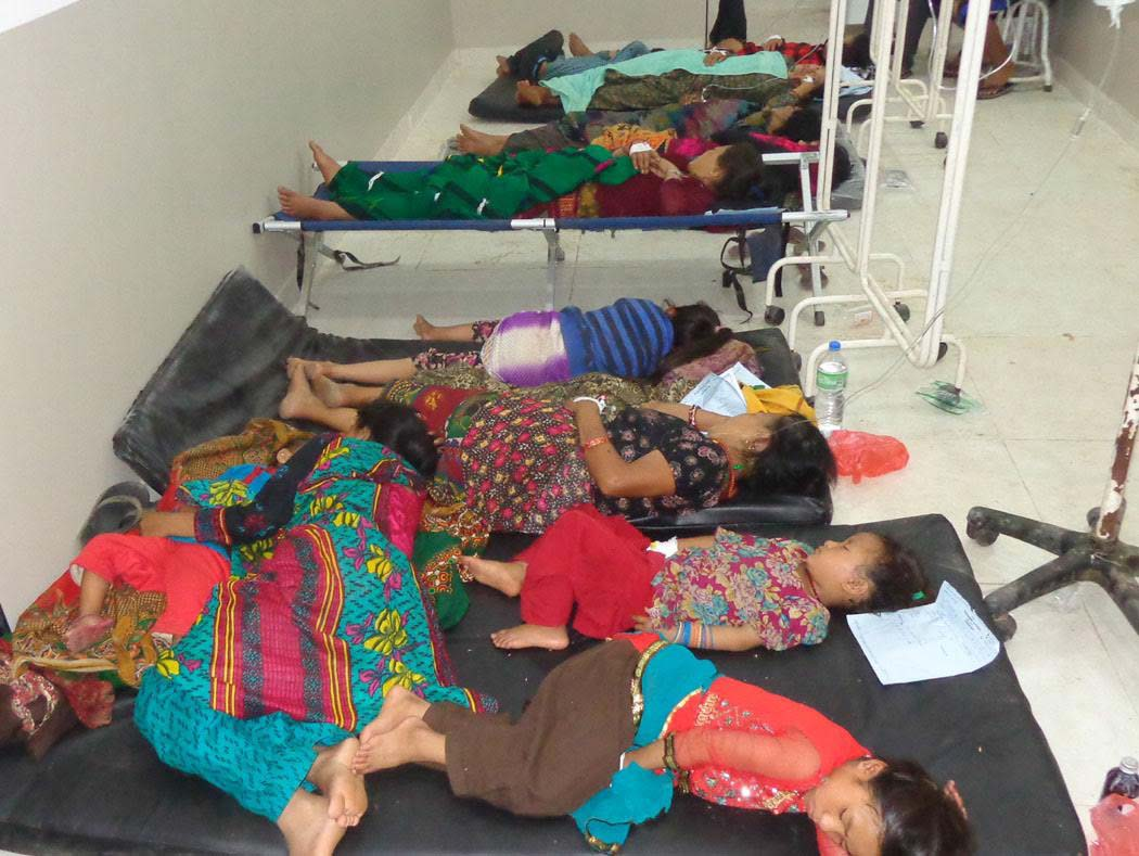 sharadha sick people