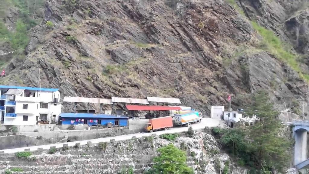 Risk on Rasuwa Nepal China border