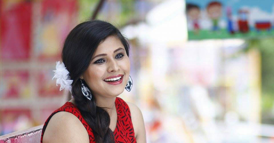 Singer Deepa Panta