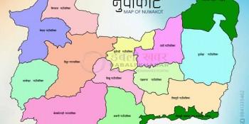 Map of Nuwakot