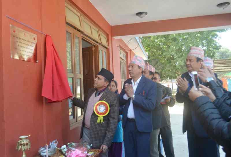 Bhawan Udhghatan Nuwakot