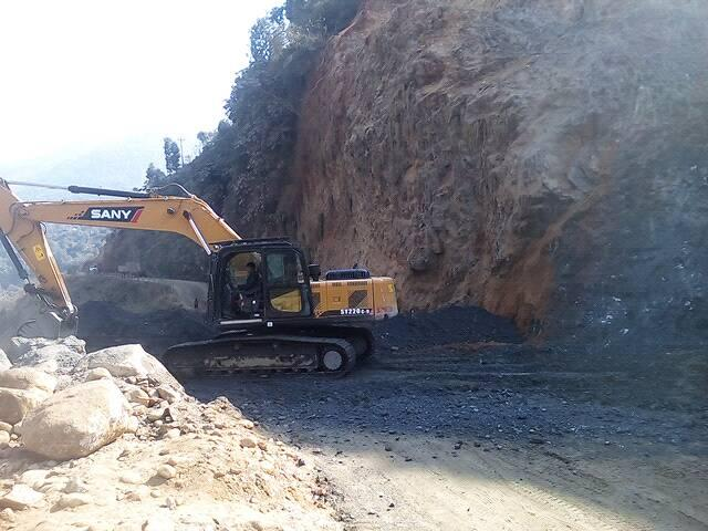 pasang lhmu highway construction