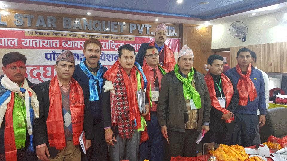 National Yatayat AGM Pasang Lhmu Yatayat Ravi Rimal Nuwakot