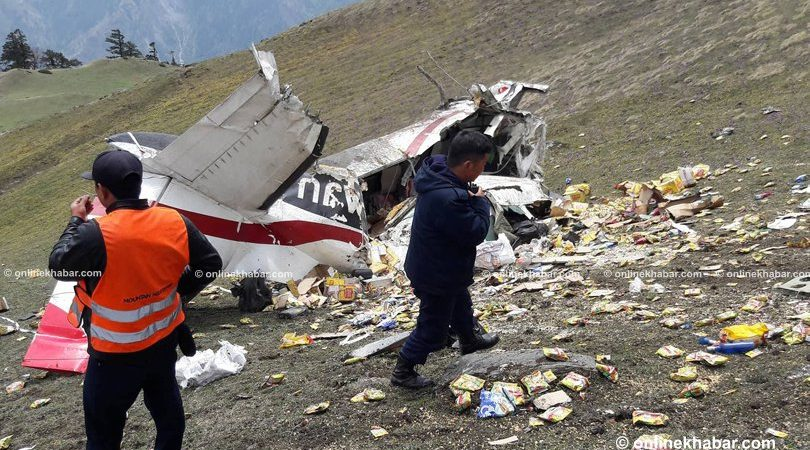 Makalu air accident in Nepal may 2018