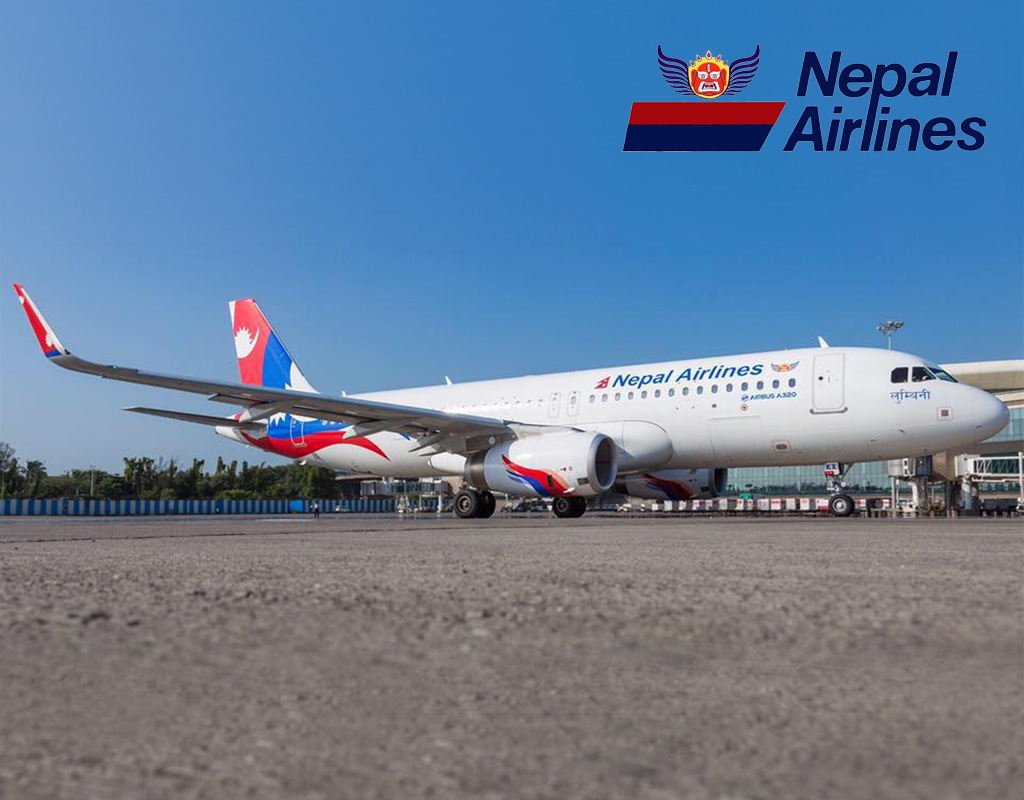 Nepal Airlines Plane