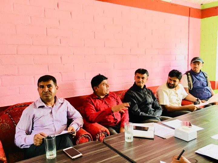Dhaan Diwas Press Meet Sabim Sahakari
