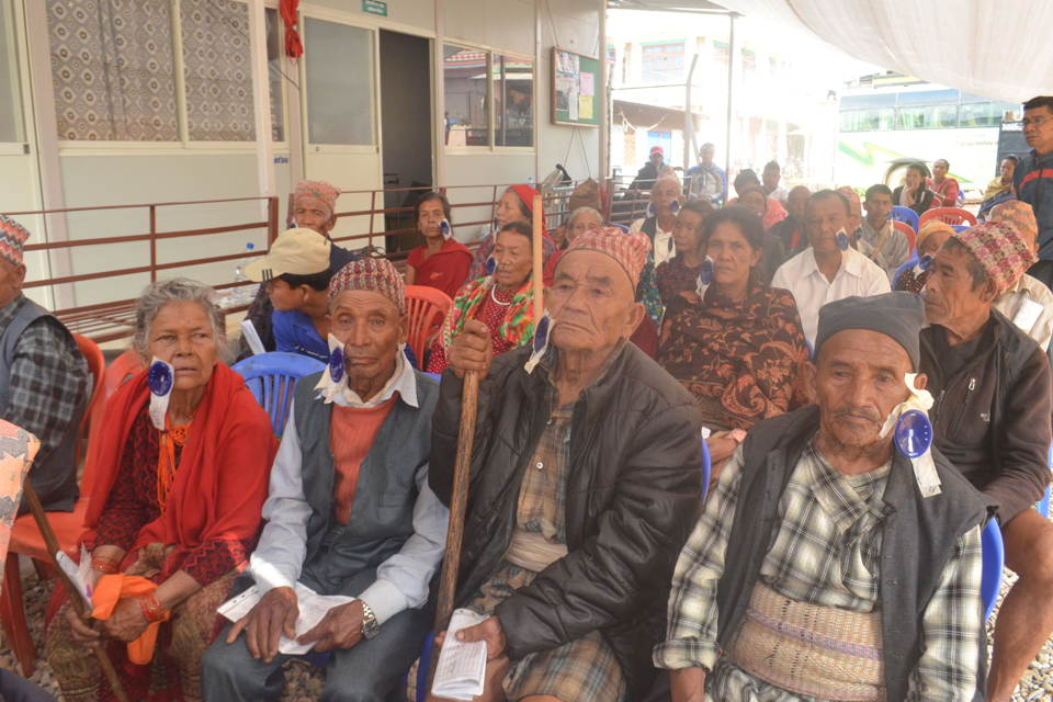 free eye checkup camp nuwakot