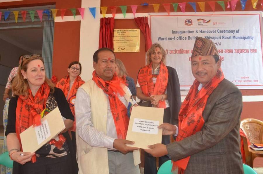 Inauguration and Handover Ceremony shivapuri rural municipality
