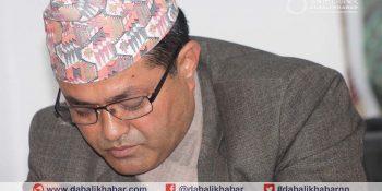 Mayor Sanju Pandi Bidur Muncipality, Nuwakot