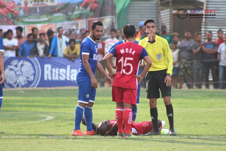 Nuwakot Goldcup Football