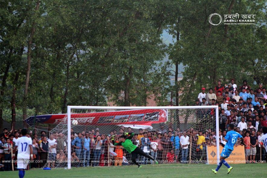 nuwakot goldcup three star club vs nuwakot-11 semifinal
