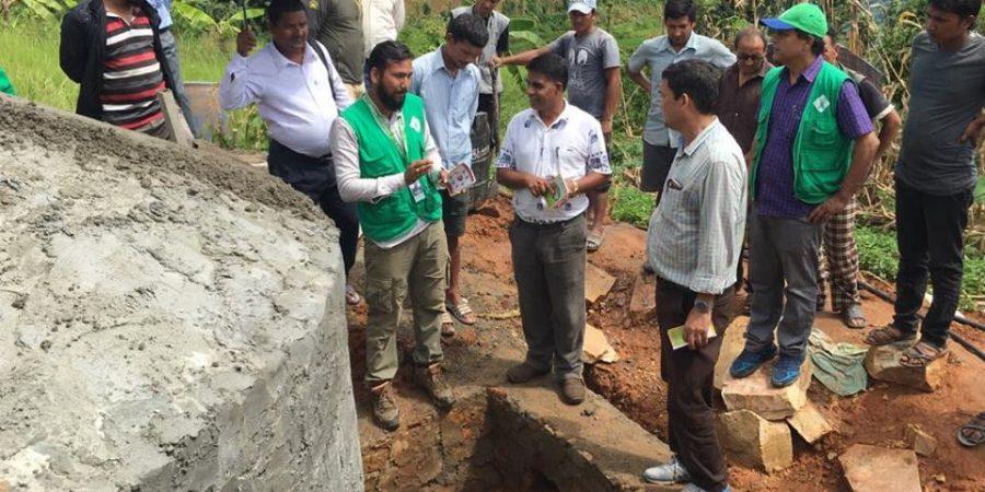 drinking water tank survey batas foundaion