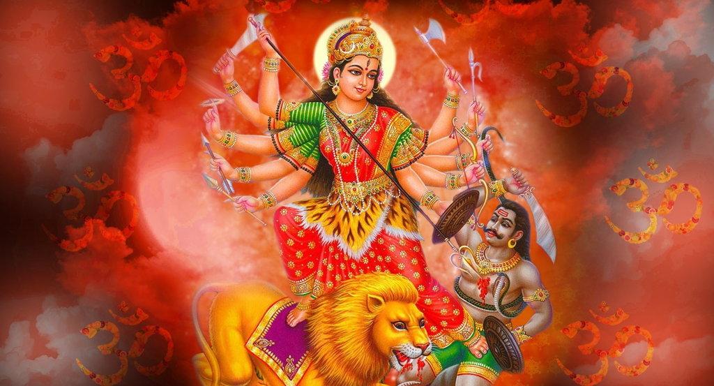 dashain durga bhawani nepal