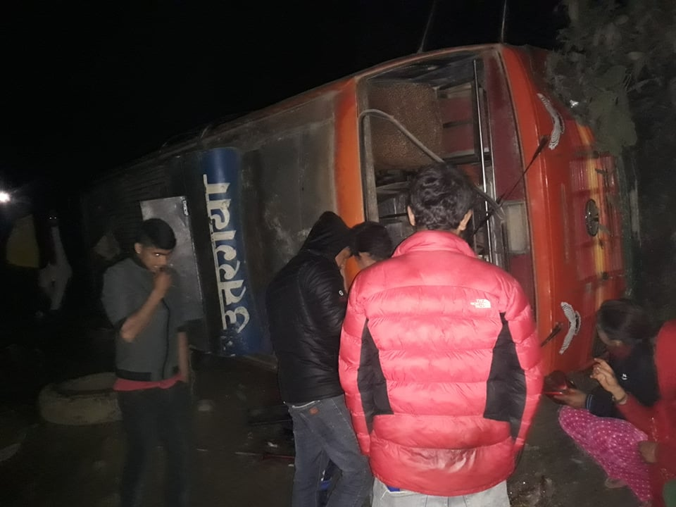 shivapuri bus accident nuwakot