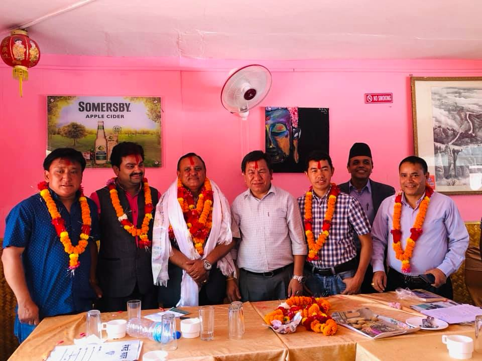 balaram neupane elected on rasuwa nuwakot tourism social community