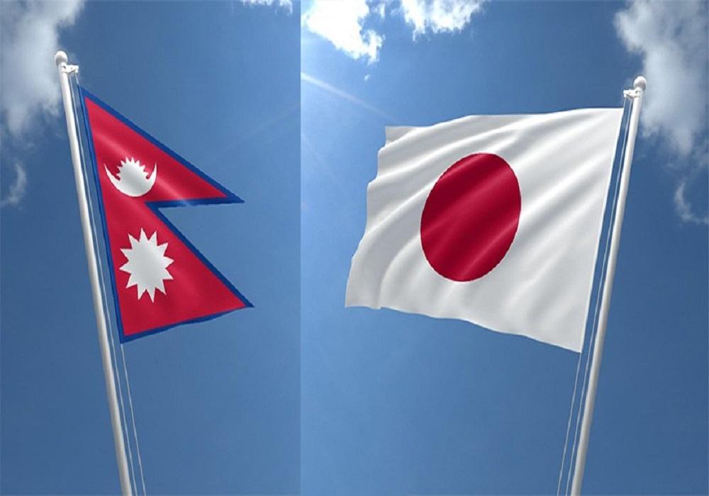 flag of nepal japan