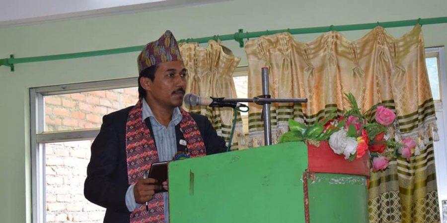 santosh upreti province 3 president of hotel and tourism association nepal