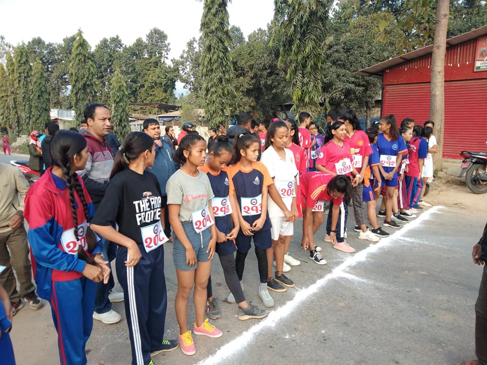 sangam running competition