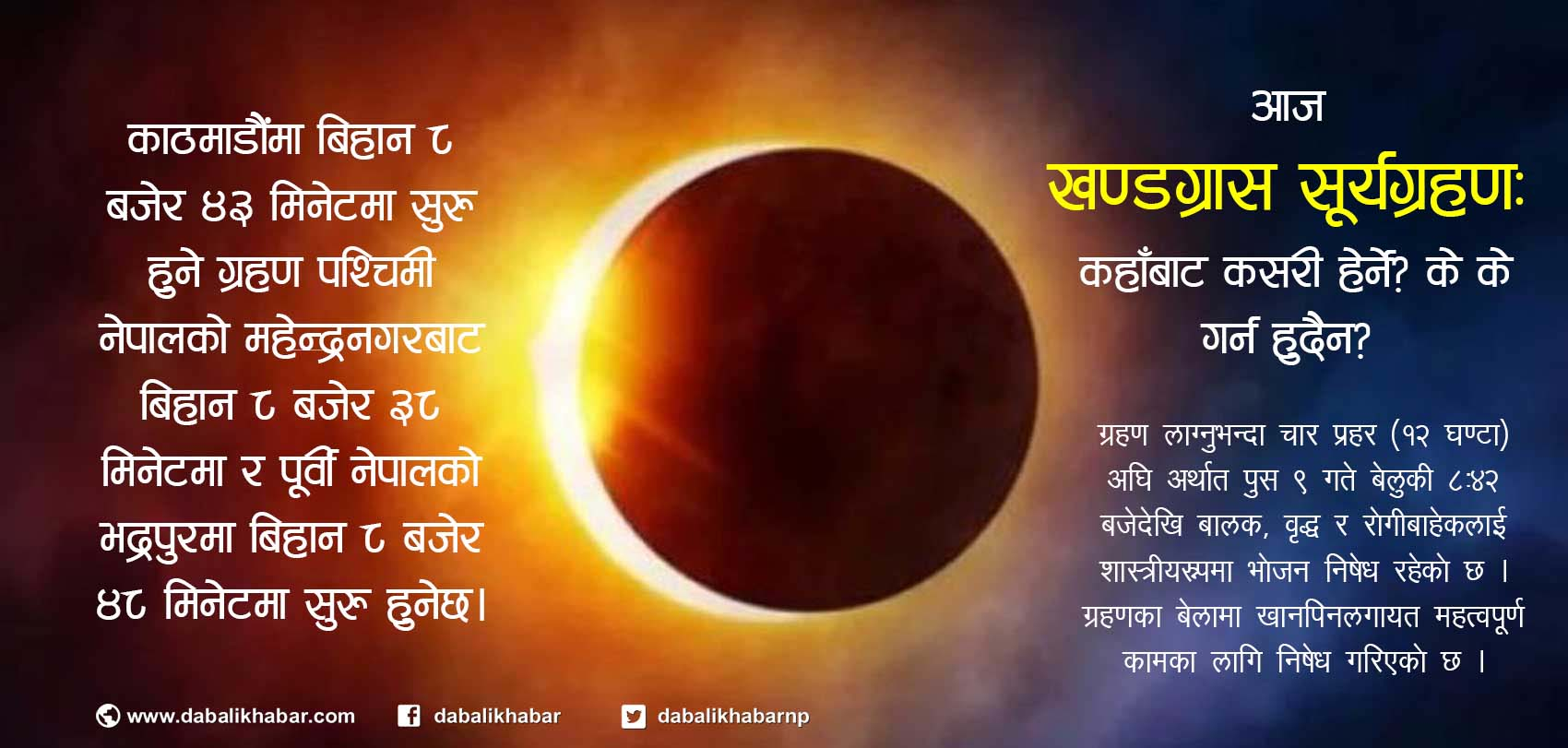 Annular Eclipse 2019 december 26 thursday