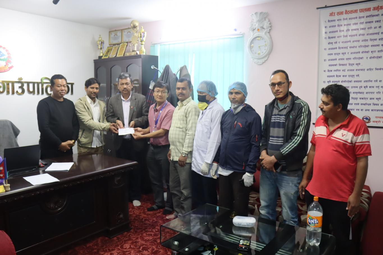 panchakanya rural municipality donate trishuli hospital