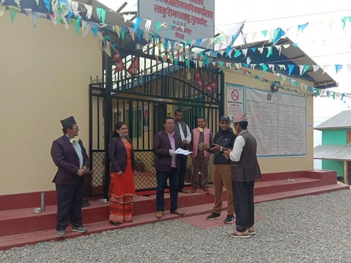 corona-fund-donate-cuml-nuwakot-panchakanya-chairman