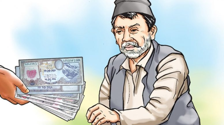 senior social fund distribute
