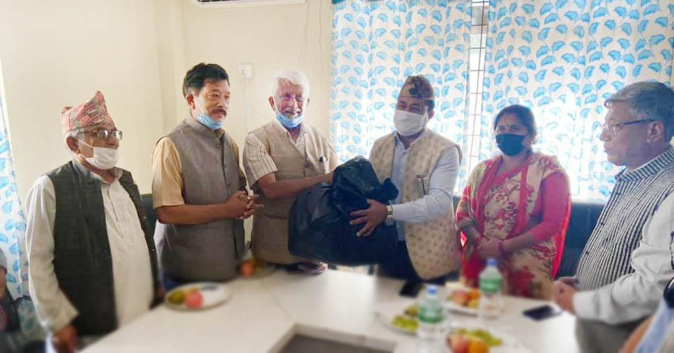 health equipment donate yashodha bhagwan memorial hospital to bidur municipality