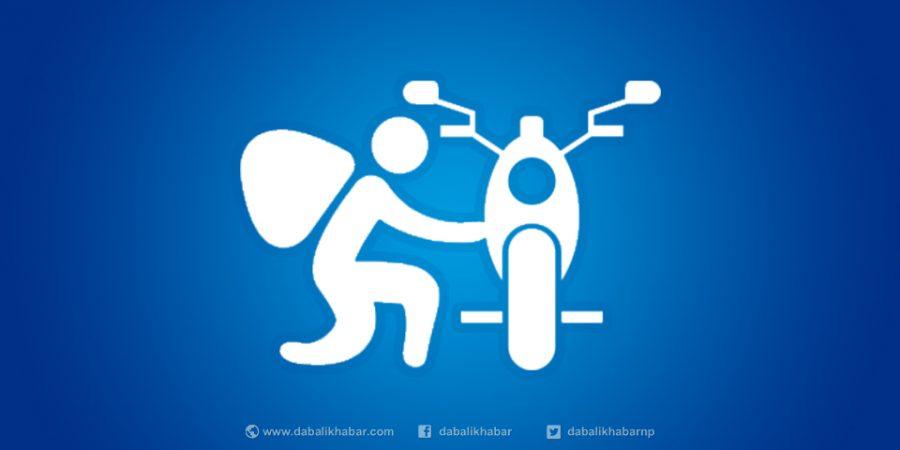 motorcycle theft cartoon