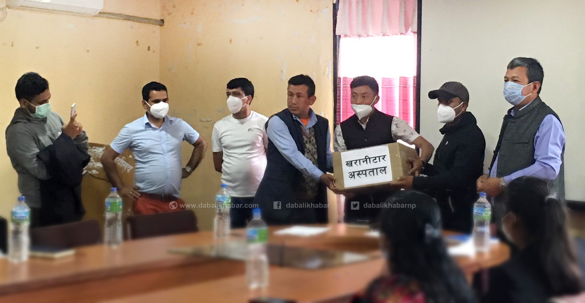 nuwakot samaj south korea donate coronavirus ppe sets to nuwakot health post