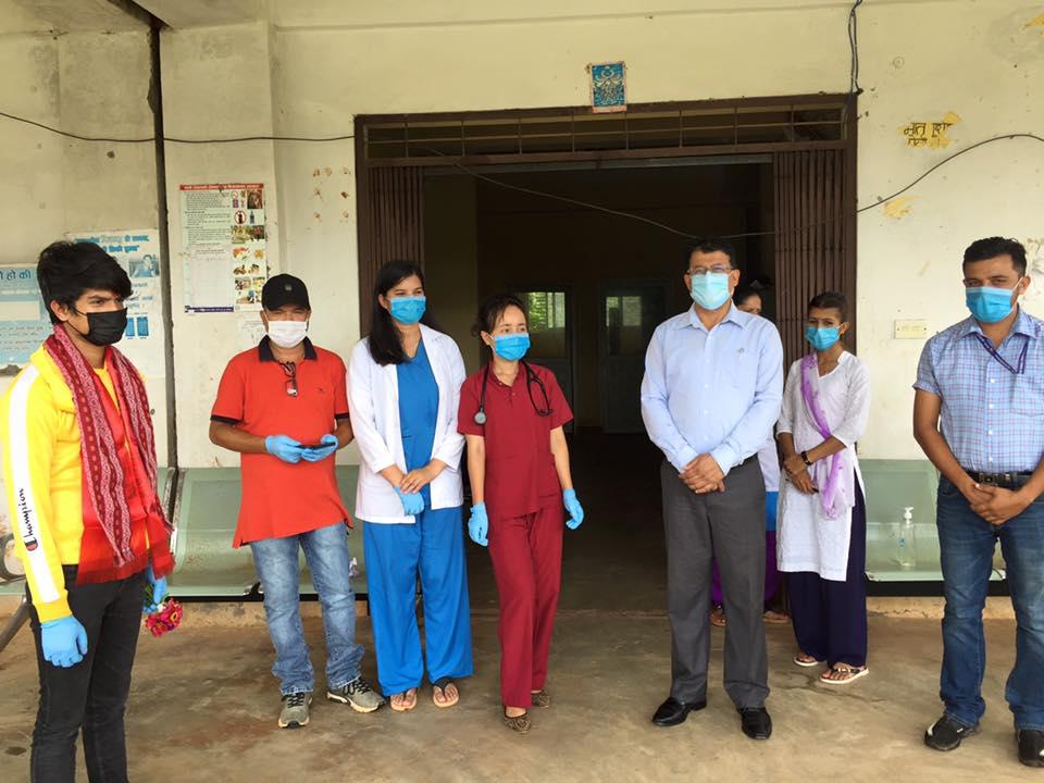 corona virus covid 19 affected one people discharged from kharanitar hospital nuwakot tadi