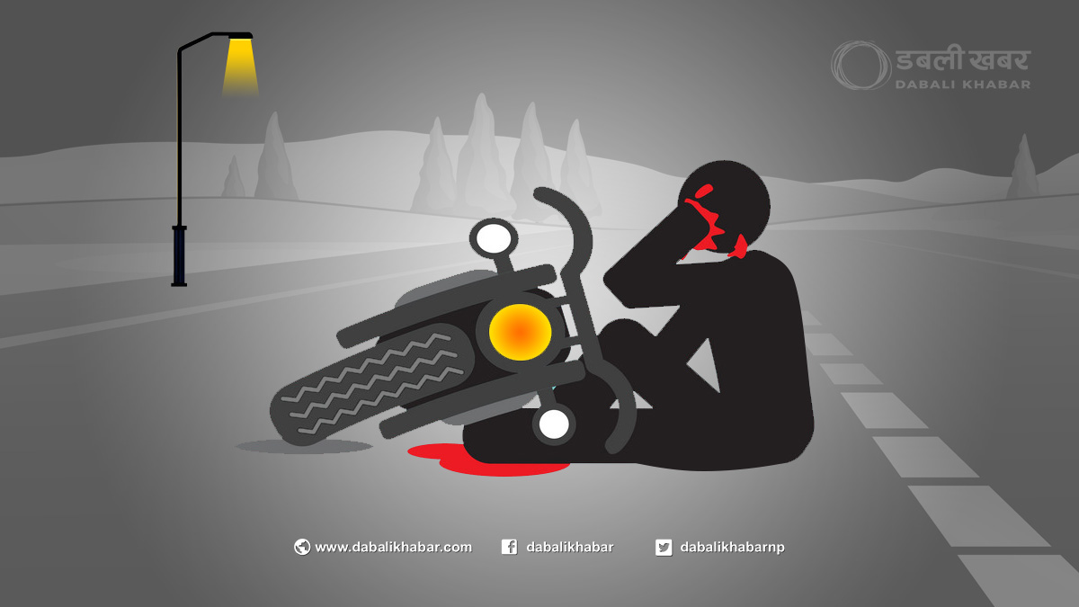 motorcycle accidents caution dabali khabar picture
