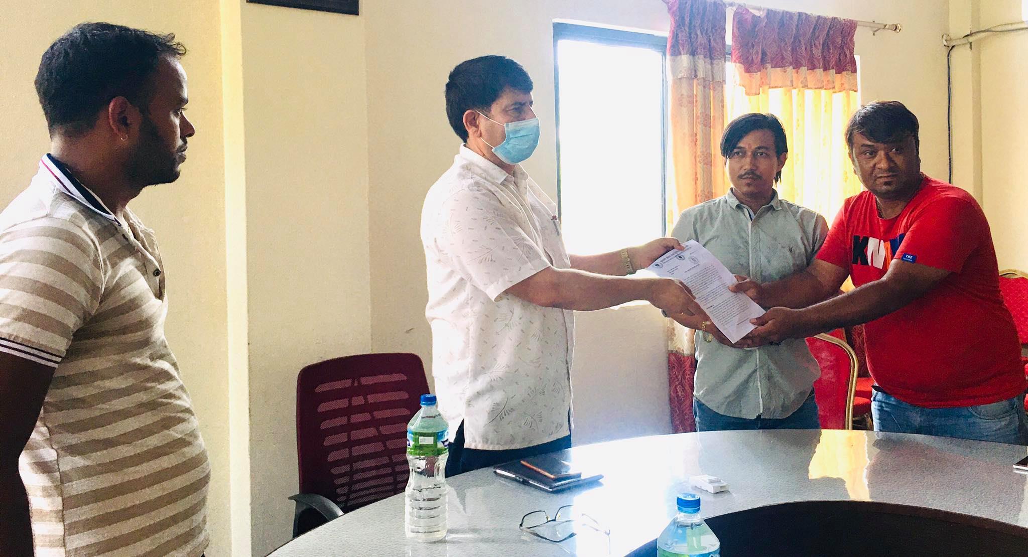nuwakot hotel and restaurant enterprenure requested to cdo in lockdown
