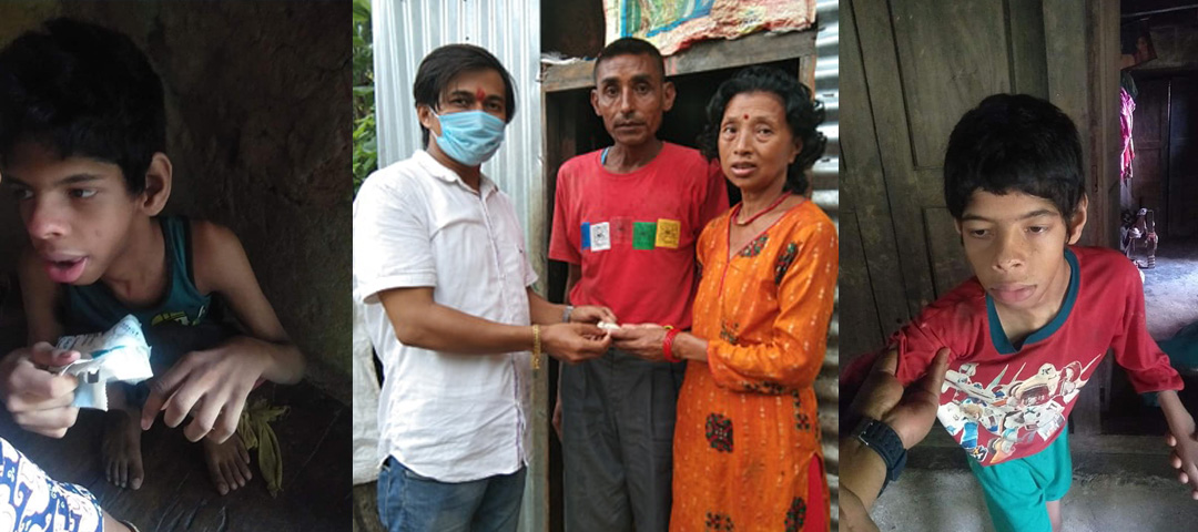 santosh upreti donate to cancer patient in his birthday