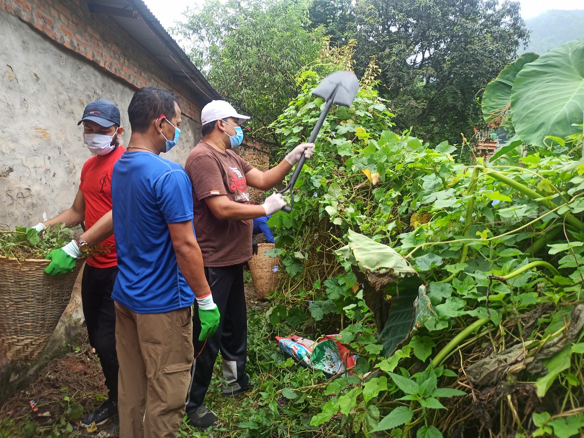 lelin ranjit bidur municipality ward 1 chairman sanitation program