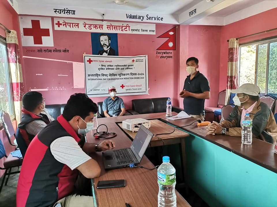 Natural Disaster Minimization Day nuwakot red cross program