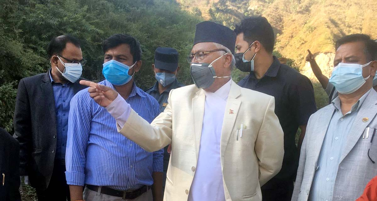 Urban Development Minister Krishna Gopal Shrestha