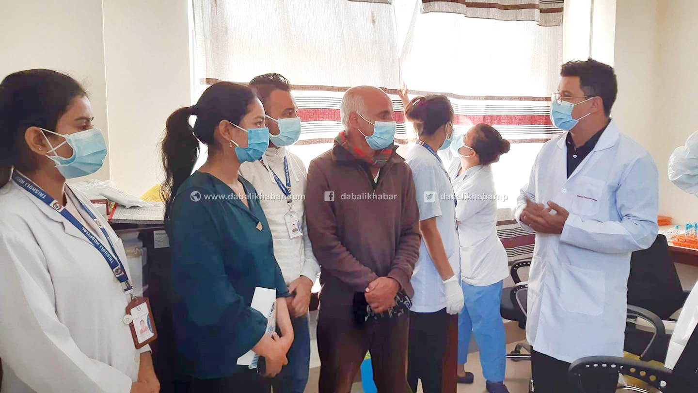 doctor govind kc in nuwakot trishuli hospital