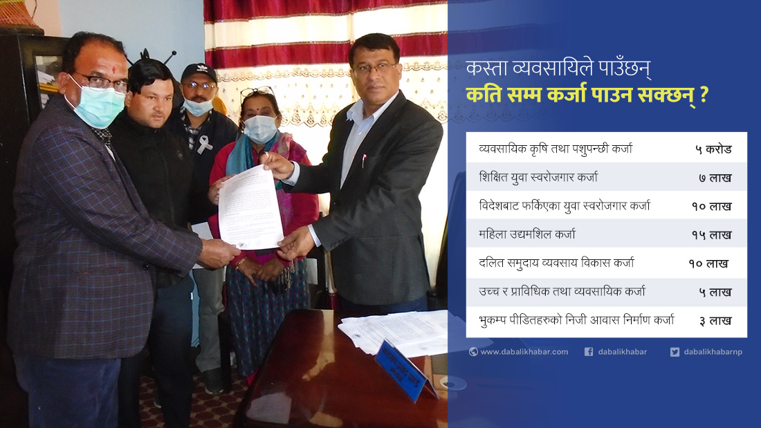 contract with tadi rural municipality agriculture development bank and nuwakot chambers of commerce