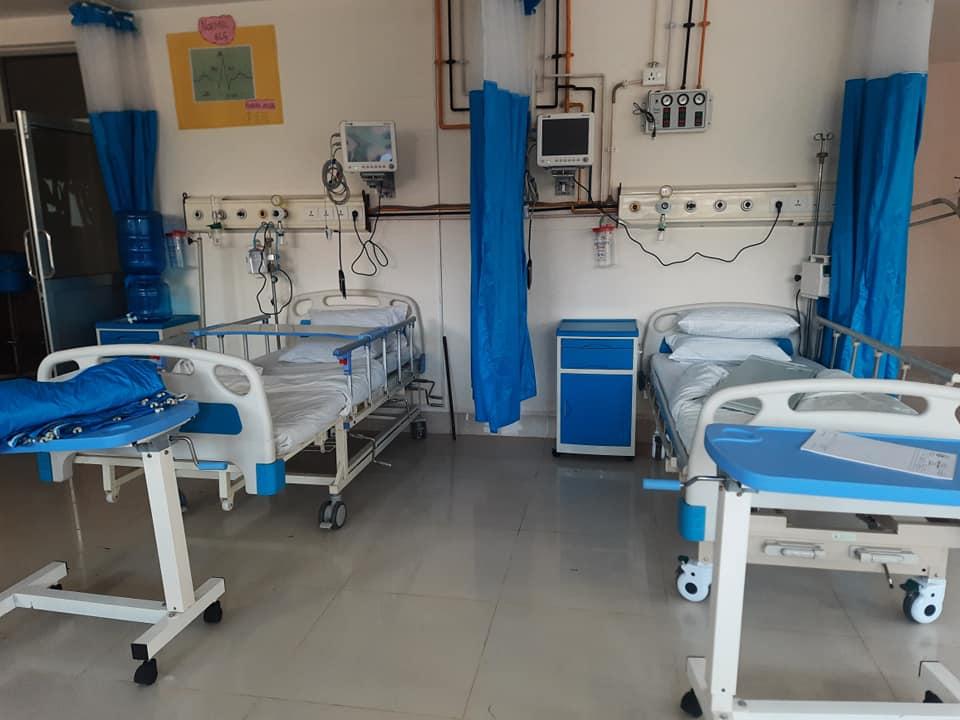 icu service in trishuli hospital nuwakot