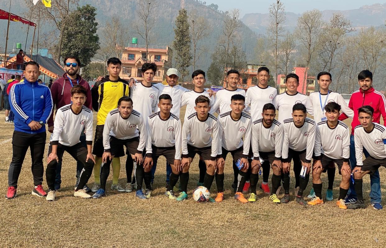 dhading football team bagamati preadesh league footall tournament