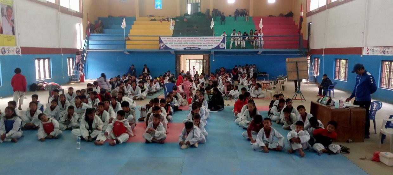 district level orchid dojan Taekwondo competition final