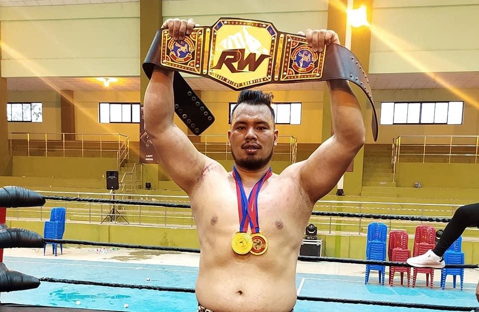 Nuwakote Tiger Wins Ring Wrestling Dabali Khabar