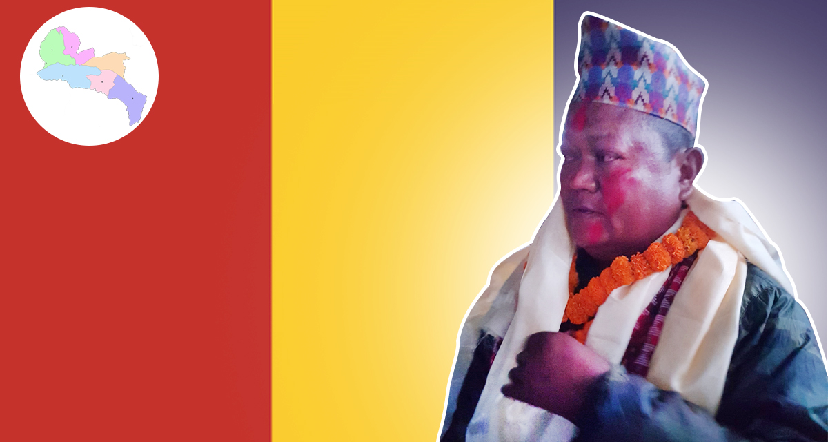 chinnal kumar rai chairman of raprapa likhu nuwakot