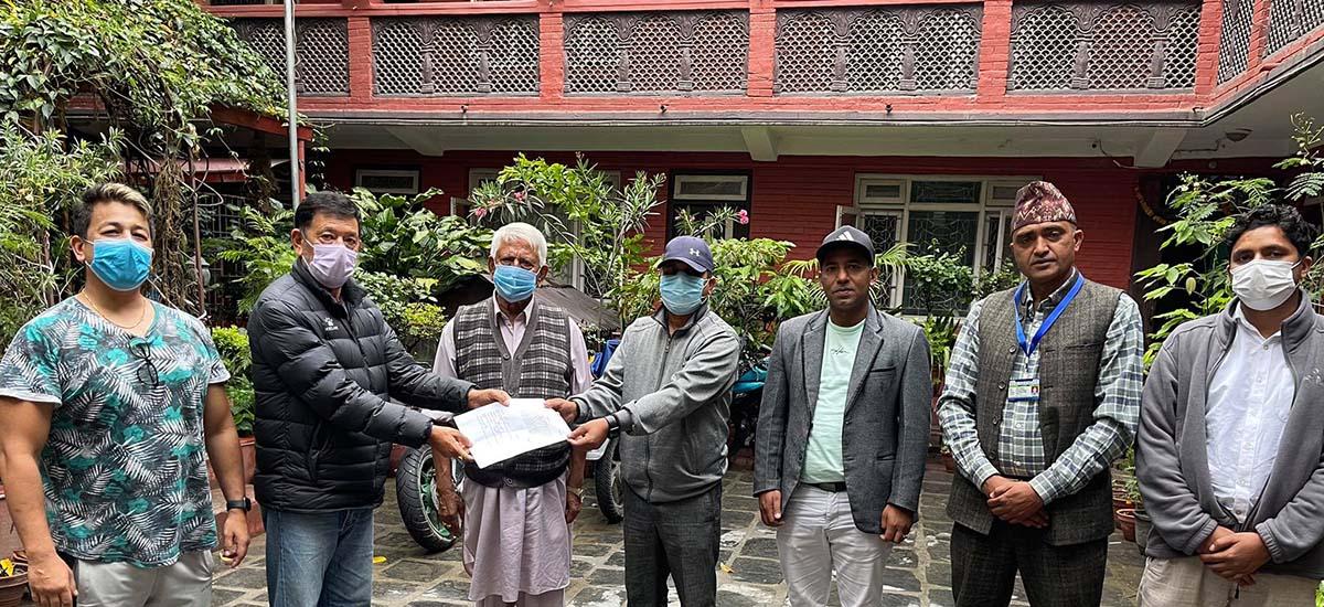 yashodadevi fund donate to oxygen cylinder in Nuakot HealthPost