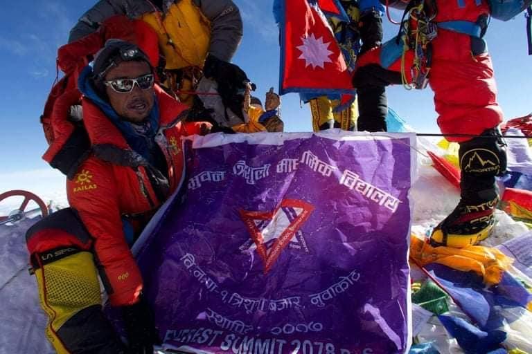 bibek pandey MT Everest