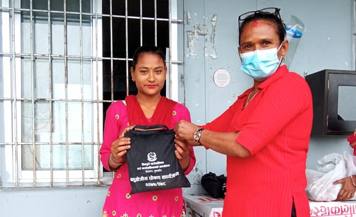 Supporting pregnant and lactating mothers in Shivpuri