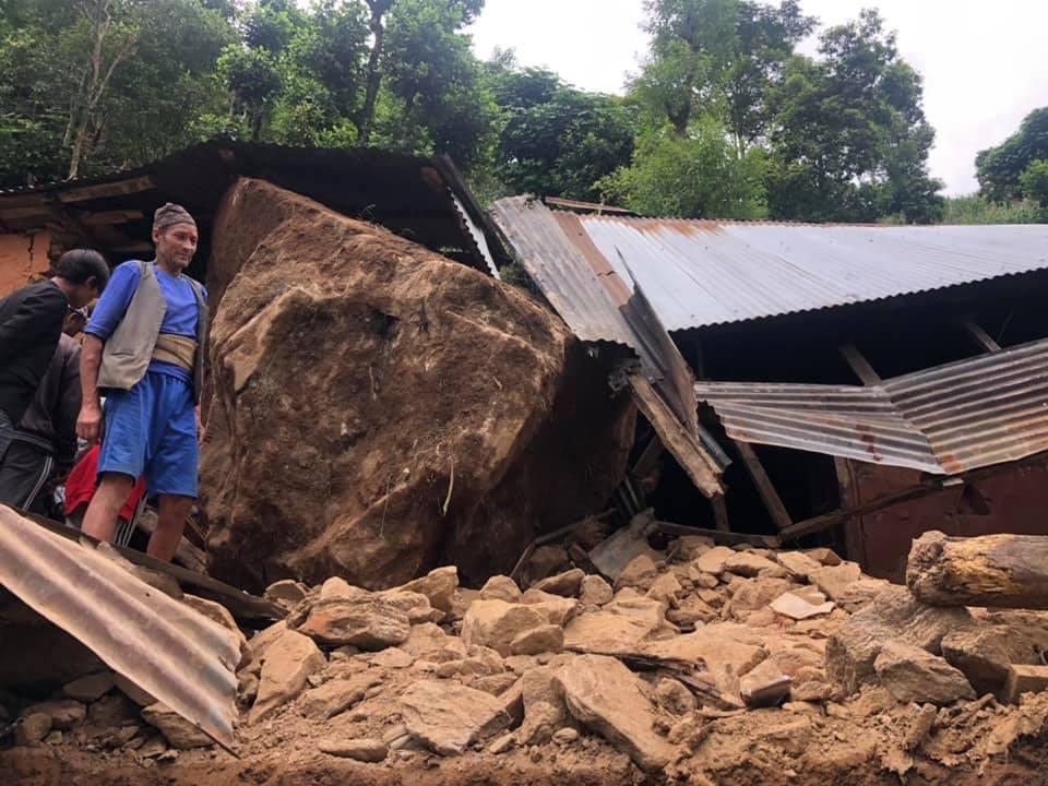 diester flood in Dupcheshwor Nuwakot