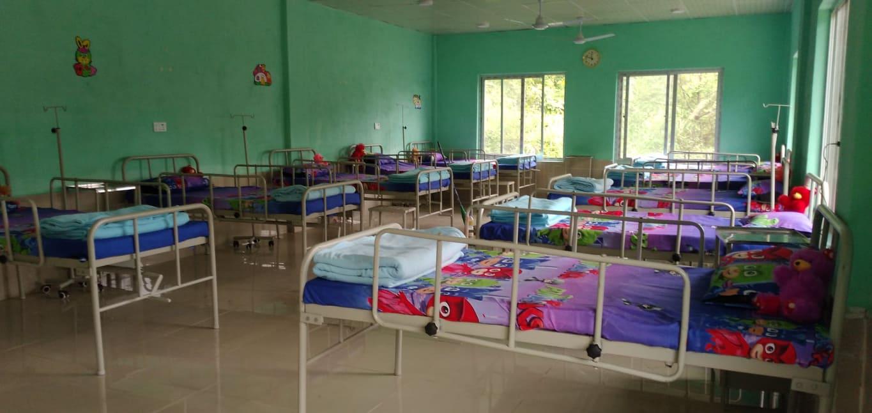 dupcheshwor child isolation center in nuwakot nepal