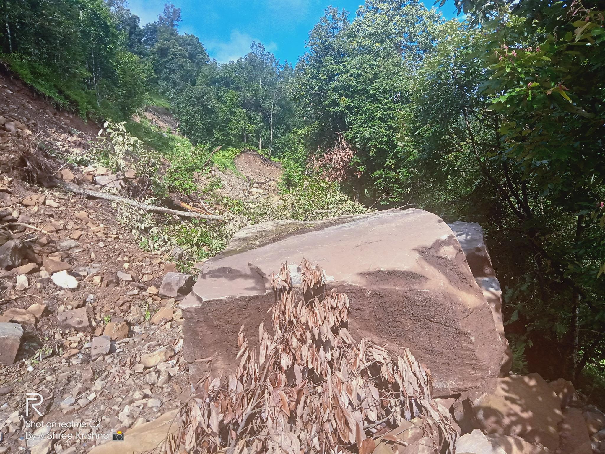 ranishwara landslide nuwakot