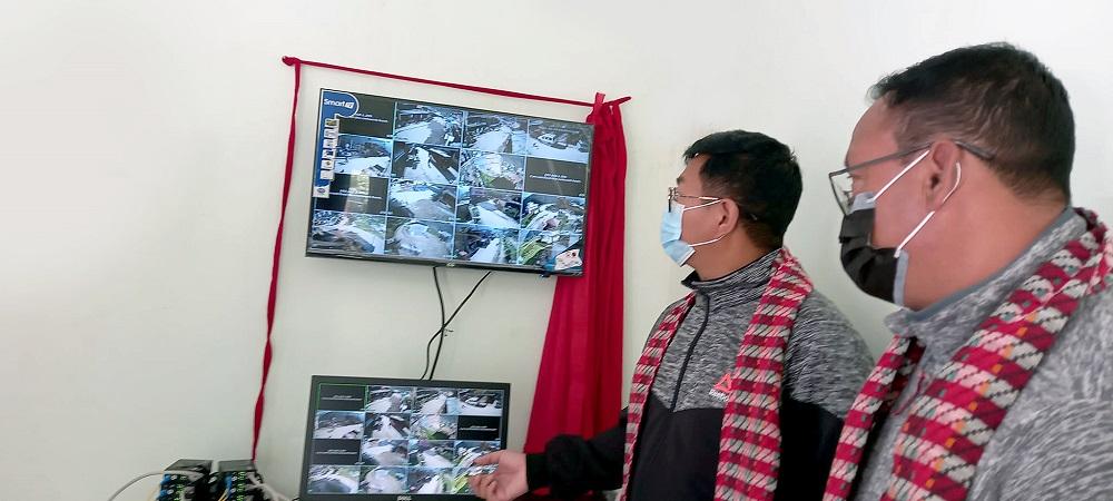 cctv camera install in Dhunche bazar
